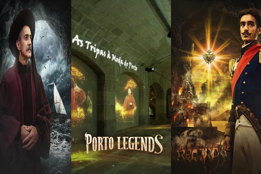 Lendas do Porto / Porto Legends, The Underground Experience